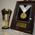 دریافت تندیس برند شایسته ملی از وزارت صنعت و معدن